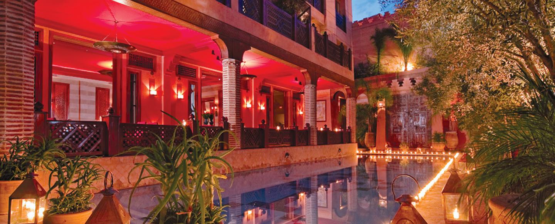 La maison arabe luxury hotel in morocco north africa - A la maison en arabe ...
