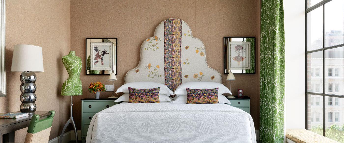 New York City Bedroom Wallpaper Crosby Street Hotel Luxury Hotel In New York City New York