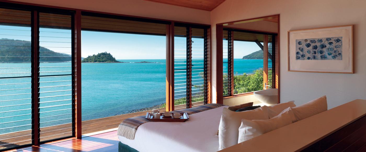 qualia, great barrier reef   luxury hotel in great barrier reef