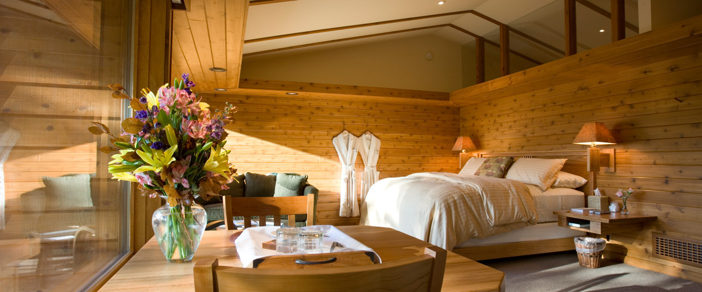 Canoe bay luxury hotel in wisconsin united states
