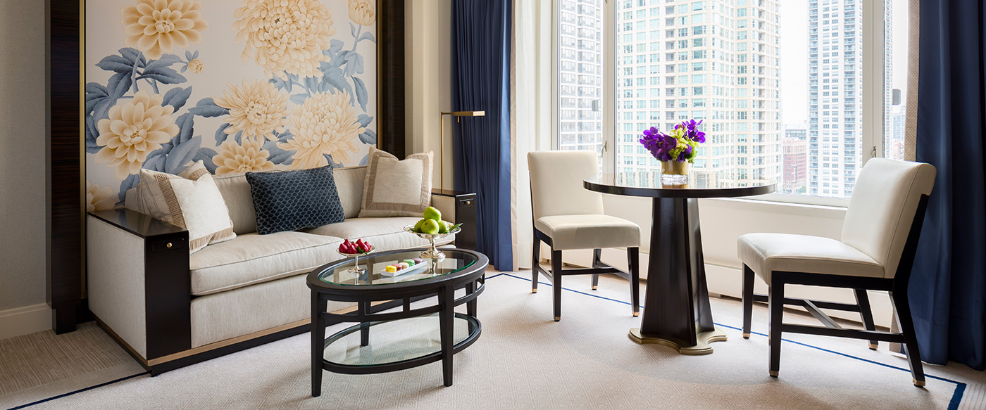 The peninsula chicago luxury hotel in chicago illinois for Hotel decor chicago