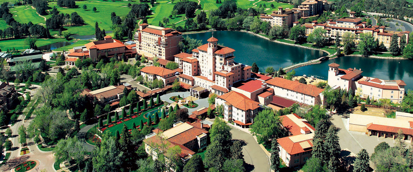 The broadmoor luxury hotel in colorado united states