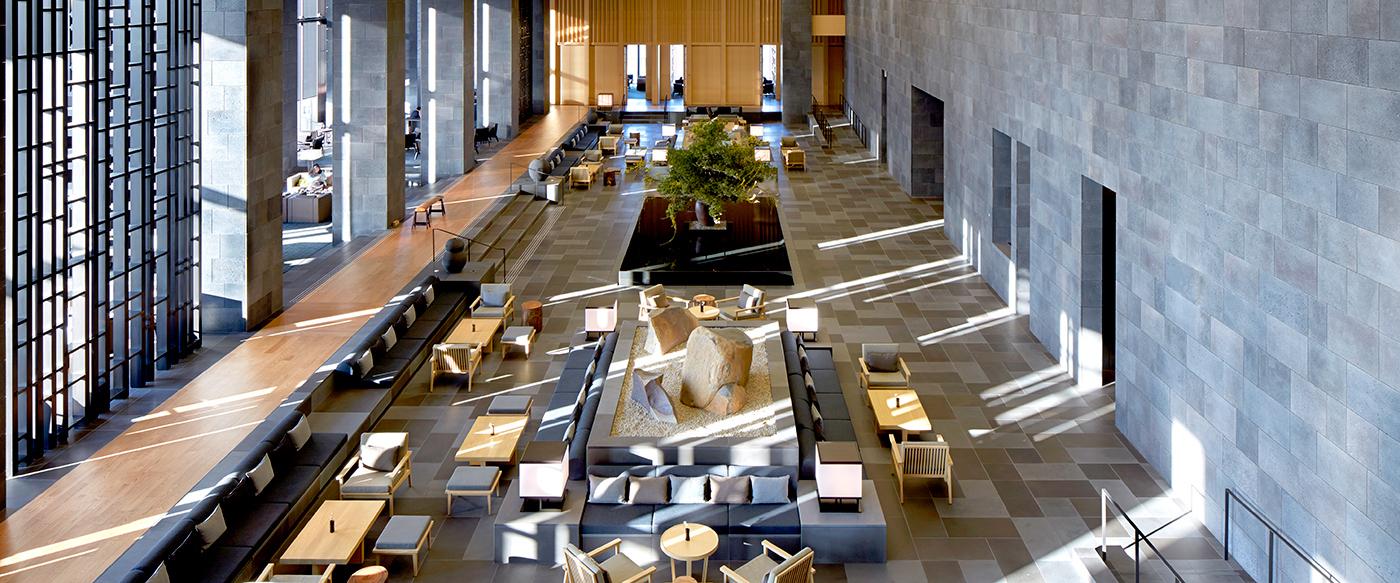 Aman Tokyo Luxury Hotel In Tokyo Japan