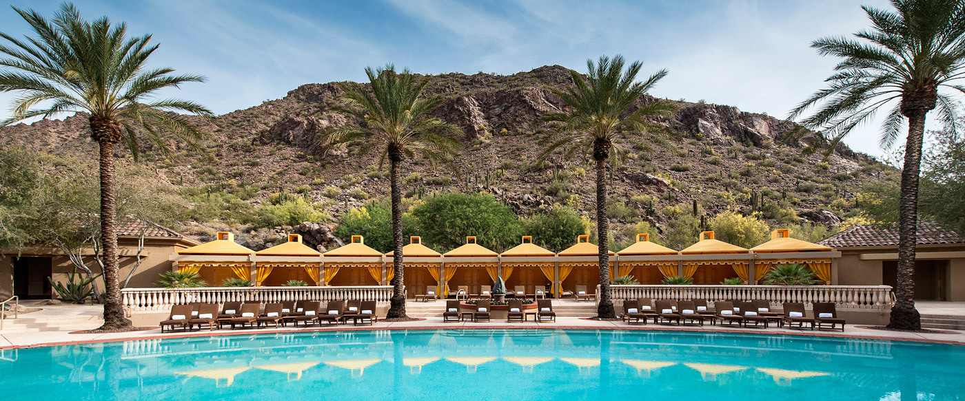 the canyon suites at the phoenician   luxury hotel in phoenix