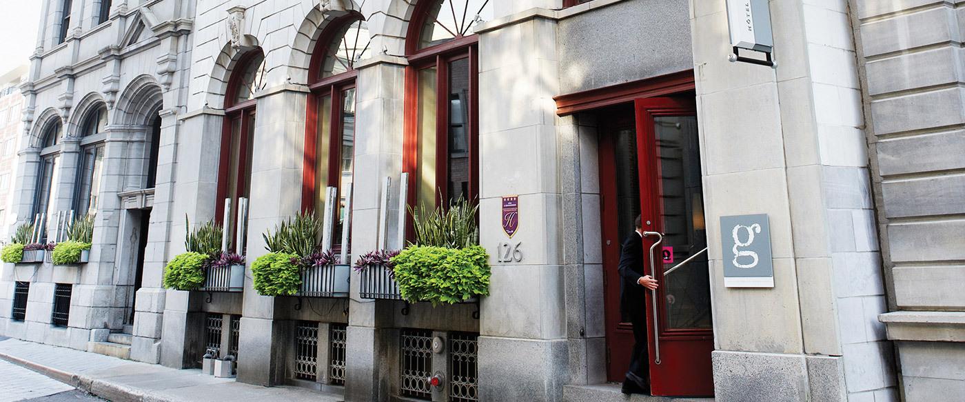 H tel le germain qu bec city luxury hotel in qu bec city for Design hotel quebec city