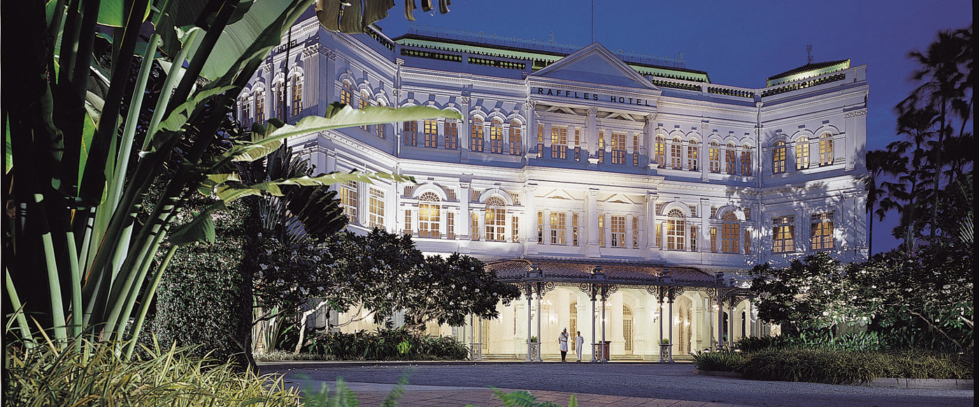 Raffles Singapore Luxury Hotel In Singapore Asia South East