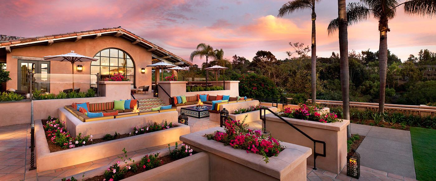 rancho valencia luxury hotel in san diego area california. Black Bedroom Furniture Sets. Home Design Ideas