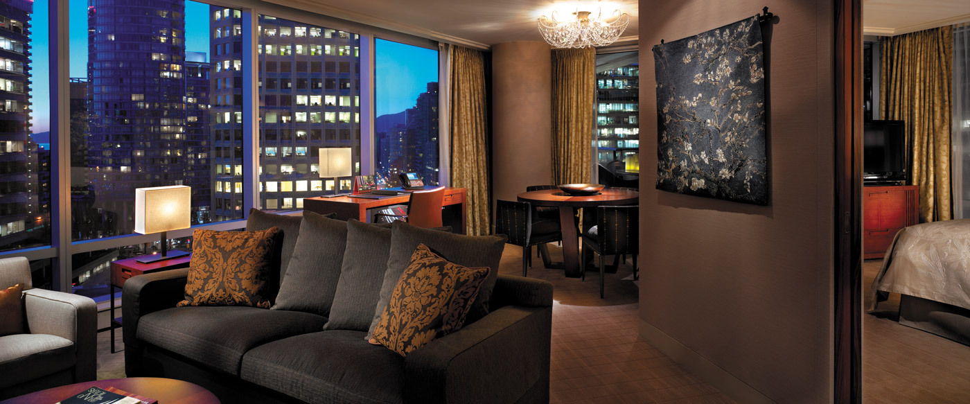 Shangri la hotel vancouver luxury hotel in vancouver for Best boutique hotels vancouver bc